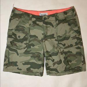 Girls Camo Print shorts Old Navy